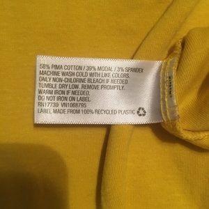 Yellow Women's Comfy casual shirt
